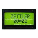8X2 Character LCD Module, Y/G Backlight, Stn Type LCD, Acm0802c-Fl-Ybh