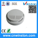 Battery Operating Current Smoke Sensor Detector with CE