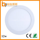 Surface Wholesale Factory 12W Round LED Panel AC85-265V Ceiling Downlight