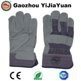 Leather Safety Machanic Working Hand Gloves