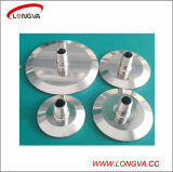 Sanitary Stainless Steel Tri Clamp End Cap with Threaded Nipple