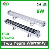 Good Quality 9W AC85-265V RGB LED Wall Washer Light