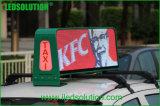 LEDSOLUTION P5 High Brightness 3G Taxi Top LED Display