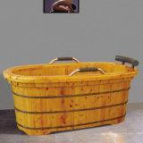 Hot Sales Medicated Bath SPA Wooden Bath Tub (NJ-042)