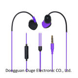 China Sport Stereo Earphone with Mic for Mobile Phone (OG-EP-6504)