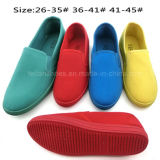 Colorful Unisex Slip on Flat Canvas Shoes Casual Shoes (PY1619-1)