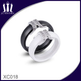 Xc018 Fashion Ceramic Moustache Lover Rings