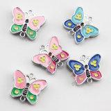 Hot Selling Butterfly Spacer Slider Bead Charm for Bracelet (JP08)