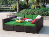 Fashion Garen Furniture PE Rattan Sofa