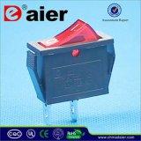 Red Button 16A Rocker Switch 250V T125