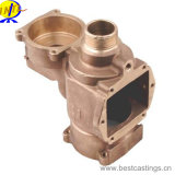 OEM Custom Brass and Bronze Inverted Valve Body
