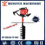 Gasoline Motorized 52cc Ground Drilling Machines Earth Auger
