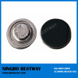 Round Strong Magnetic Name Badge Holder