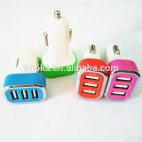 Promotion Gift Cheapest 3 Port USB Car Charger Car Charger