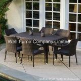 7-Piece Hampton Rattan Dining Set / Rattan Dining Chair