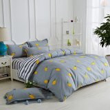 Microfiber Bedding Set with Duvet Cover Bedsheet Pillow Cases