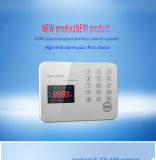 Wireless Home GSM Alarm System Support APP Operation with Touch Keypad