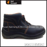 Middle Cut Industrial Safety Shoe with PU/PU Outsole (SN1801)