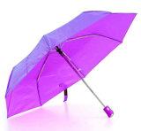 3 Fold Duomatic Quality Windproof Satin Umbrella (YS-3FD3511R)