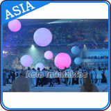 Throwed Changed Colour Light Balloon for Vocal Concert