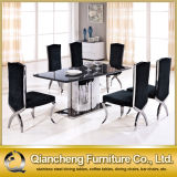 Modern Luxury Stainless Steel Dining Table
