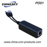 Mini 25W CCTV Poe Splitter with Lightning Protection (PD01)