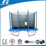 Wholesale Rectangle Trampoline with Enclosure (GS certificate, EN71) 6X9FT