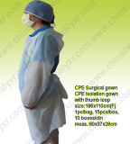 Ly Disposable Plastic Isolation Gown