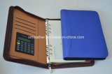 Business A5 Leather Binder Organizer with Calculator