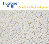 Hualong Golden Crackle Effect Primer for Wall Decoration
