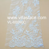 1.4m Rayon Lace Fabric for Lady Garments Vl- 60090c