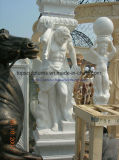 Marble Statue Stone Carving Marble Sculpture for Columns
