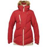 2015 Ladies Winter Long Red Down Jacket