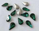 2015 Shinning Color Drop Shape 6*10 Size Crystal Loose Beads for Jewelry Accessories