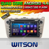 Witson Android 4.4 System Car DVD for Mazda 6 (W2-F9626M)