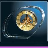 Crystal Clocks Home Desktop Decor in Gold