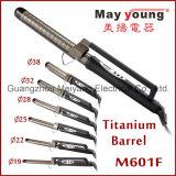 M601f Professional Dual Voltage Titanium Hair Flat Iron