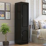 Bedroom Wardrobe with High Gloss Plastic Wardrobe Doors