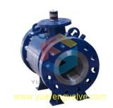 Side Entry Trunnion Forged API Ball Valve
