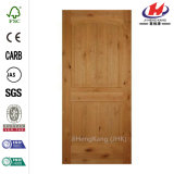 24 in. X 80 in. Arch Knotty Alder Door Slab
