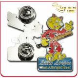 Customized Die Struck Iron Soft Enamel Badge