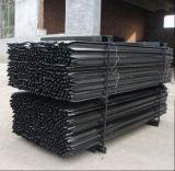 Australia 1650mm Black Bitumen Star Picket/Steel Y Fence Post