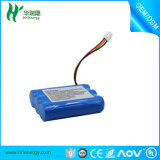 Rechargeable Li-ion Battery 18650 2200mAh 11.1V for Automatic Vacuum Cleaner