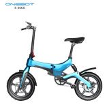 """36V Lithium Battery Adult Mini 16"""" Foldable Electric Bike with Pedals"""