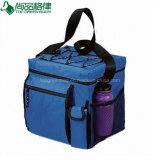 Multi Compartments Insulated Freezer Lunch Bag with Bottle Pocket
