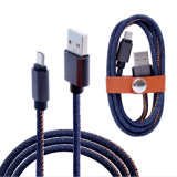 Type-C Android Denim Fabric 1m 2m 2A Fast Charging Data Micro USB Cable