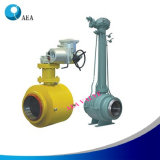 Extension Long Stem Fully Welded Ball Valve for Natural Gas