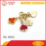 Fashion Custom Jewelry Love Heart Shape Logo Decoration