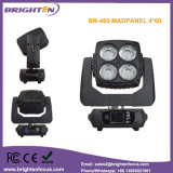 Pixel Controlled Mini Moving Head 4*60W LED RGBW 4 in 1 Wash