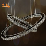 Large Ring Crystal Chandelier LED Pendant Light From China